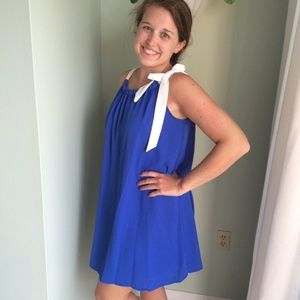 Royal Blue Sun Dress